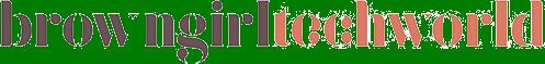 Brown Girl Tech World Logo